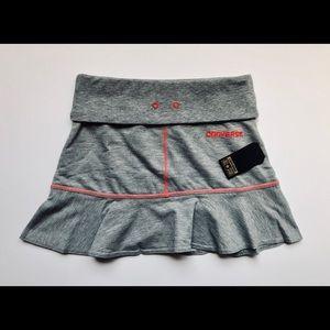 Converse Girls Heather Grey Mini Skirt-M/NWT